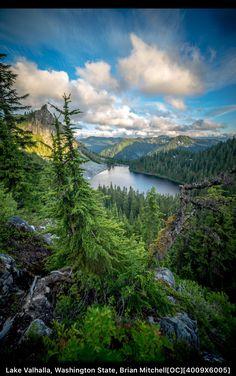 Lake Valhalla, Washington State