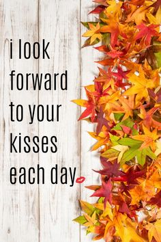 Look forward to his kisses each day when he draws a Kiss Card from Kisses 4 Us!  The Idea Book gives you ideas on ways to celebrate occasions throughout the year.   A Romantic Gift Idea! Cute Romantic Quotes, Cute Inspirational Quotes, Motivational Quotes, Romantic Gifts For Boyfriend, Boyfriend Gifts, Kissing Quotes For Him, Relationship Quotes, Relationships, Halloween Date