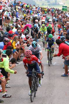 Tour of Spain 2016 Stage 11 Nairo Quintana, Chris Froome, Chavez  Getty Images…