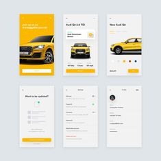 png by Paolo Spazzini Ui Design Mobile, App Ui Design, User Interface Design, Flat Design, Design Design, Mobile App Icon, Mobile Ui, Car App, App Design Inspiration