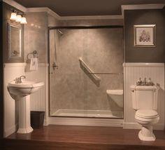 turn a bathtub into walkin shower