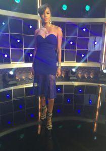 Splurge: Letoya Luckett's Hip Hop Squares Self Portrait Fluted Strapless Lace Dress