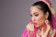 Bollywood bridal makeup by Glamour Dollz Makeup Artistry. www.glamourdollz.com.au. Photographer: Balmain St Studio