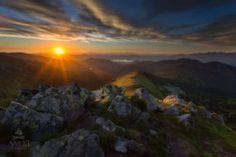 Západ slnka v Nízkych Tatrách