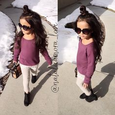 """⠀⠀⠀⠀Natalie ❃ Amora ❃ Love on Instagram: """"It's friday rock that top knot Top from @tillys Pants from @oldnavy Booties from @nordstrom Bag from @fashionkidstore"""""""
