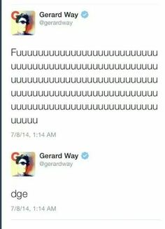 Gerard  *cough* Fabulous *cough* Way, sorry I meant Arthur. (not really)