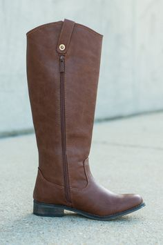 """""""The Carolina Boot, Tan"""" This boot will literally go with anything! We love the tan color and the simplicity of this one."""