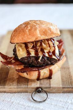 Barbecue Bacon Burgers