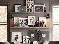 Die besten 25 bilderleiste ideen auf pinterest farrow und ball wohnzimmer viktorianischer - Bilderleiste dekorieren ...
