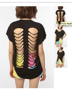 inspiration - i like this idea of cut up shirts as the design