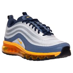 97807ed4e9bf ... Mens Nike Air Max 97 2013 Hyp Running Shoes Finish Line Pure Platinum  ...
