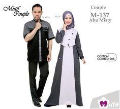 Jual beli Baju Sarimbit Mutif Couple Model M-137 Abu Misty di Lapak Aprilia  Wati - agenbajumuslim. Menjual Busana Muslim Wanita - Mutif Couple Model  M-137 ... 2012958cef