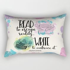"""Write to Embrace It"" Pillow *"