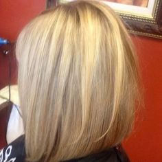 Long swing bob hairstyles