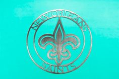 New Orleans Saints metal wall art by ConverseCustomMetal on Etsy https://www.etsy.com/listing/247418760/new-orleans-saints-metal-wall-art