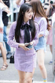 Fashion Tag, Daily Fashion, Oh My Girl Yooa, Girl Next Door, Airport Style, Kpop Girls, Girl Group, Korean Fashion, Photoshoot