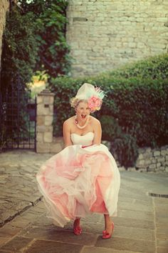 DIY pink crinoline.