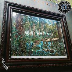 Original Artwork, Ink, Night, Frame, Prints, Instagram, India Ink, Frames