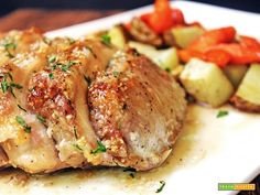 Arista al forno con patate: la ricetta morbida anche con le cipolle - Ricetta
