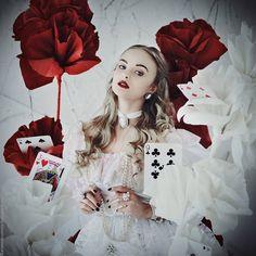 Алиса в Стране Чудес. Большой фотопроект (несколько персонажей, много декораций). | Макияж глаз