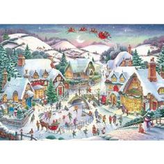 Ravensburger A Country Christmas 1000 Piece Jigsaw Puzzle