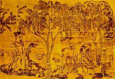Gingko tree art