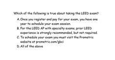 #LEEDexamprep #PopQuiz Ready for the #LEEDexam? Stay tuned for the answer later! @USGBC #LEED #USGBCEducationPartner