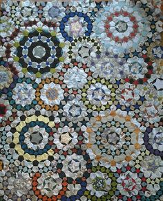 """Love this quilt! From Flickr: W. Hammersteins """"La Passacaglia"""" 
