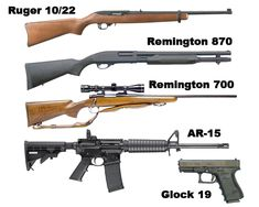 Top Five Survival Guns? - I don't care much for the models but the .22 LR's and NATO calibre's and magazines are important. Add a .22 LR pistol and the .308/7.62, .223/5.56 and 12 ga gotta have 'em.