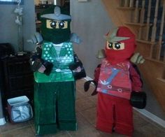 Both my sons ages 5 and 7 desperately wanted to be their favorite Lego Ninjago Characters for Halloween this year so they asked me if I could help the...