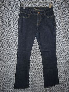 "Old Navy ""The Dreamer"" Women's Stretch Denim Boot Cut Blue Jeans Size 4R #46 Hot #OldNavy #BootCut"