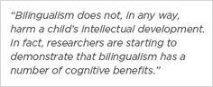 Bilingualism and LD - Intellectual Development