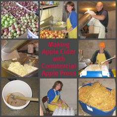 Making Apple Cider and Making a Homemade Cider Press