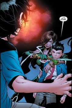 Dysfunctional family reunions (Damian is so done)
