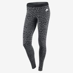 Nike Store. Nike Leg-A-See Allover Print Women's Tights @Nicole Novembrino Novembrino Novembrino Lanzel , @Bonnie S. S. S. Coyle  we need these