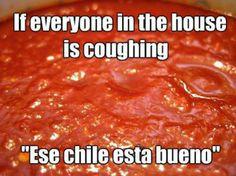 Ese Chile está bueno!