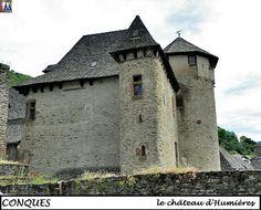 CONQUES - Aveyron --- Chateau d' Humières