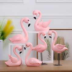 Creative Resin Pink Flamingo Figure for Girl Ins Hot Animal Home Decor Gifts for. Flamingo Party, Flamingo Cupcakes, Flamingo Craft, Flamingo Gifts, Flamingo Decor, Flamingo Birthday, Pink Flamingos, Kids Gifts, Craft Gifts