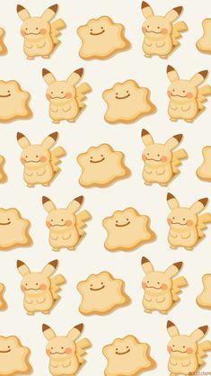 Cute Pokemon Wallpaper, Kawaii Wallpaper, Cute Wallpaper Backgrounds, Wallpaper Iphone Cute, Cute Wallpapers, Pokemon Life, Pokemon Ditto, Pokemon Go, Pikachu Pikachu