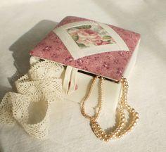 English Rose Fabric Box