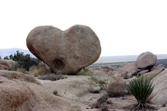 "The photographer said, Natures way of saying ""I Love You!"" Heart-shaped rock at Joshua Tree National Park. ""Not far from the White Tanks campground."" Photo by Michael Dorausch"