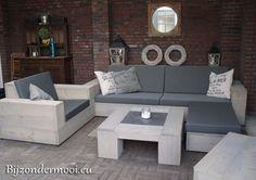 Stijlvolle meubels van steigerhout gemaakt door bijzondermooi.eu