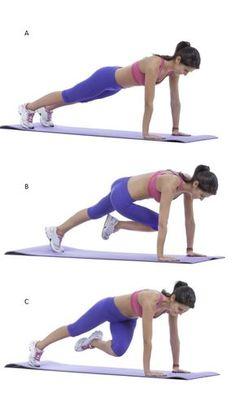 Le climber, un exercice complet, gainant et cardio