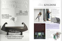 Karen Brost London in the Kensington and Chelsea Magazine
