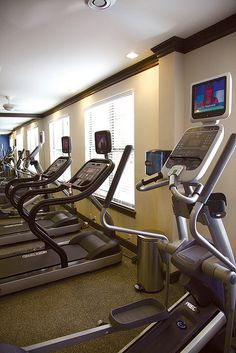 Park and Market North Hills residents can enjoy the fitness center which features top-of-the line fitness equipment – and many pieces have built-in televisions!     Our Health is so Important
