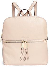 Michael Kors 'Rhea' medium nappa leather backpack