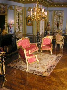MonToutMiniMonde: Set of lounge, inspiration Louis XVI