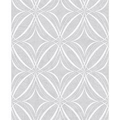 3 x Small Scale Damask Glitter Wallpaper White Silver Vinyl Ornament Superfresco
