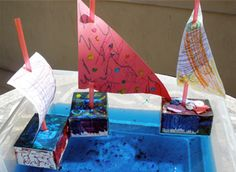 Set sail with this recycled boat box!