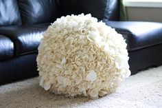 Hydrangea Pouf! Make this one day....